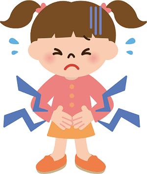 子供が腹痛